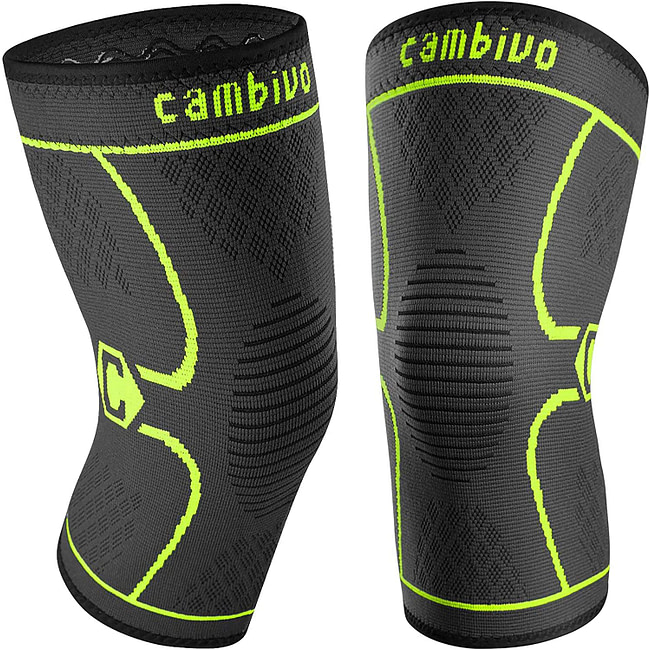 6. Cambivo Knee Sleeve 2-Pack – best budget