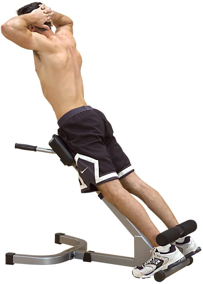 Body-Solid Powerline 45-Degree Hyperextension Bench