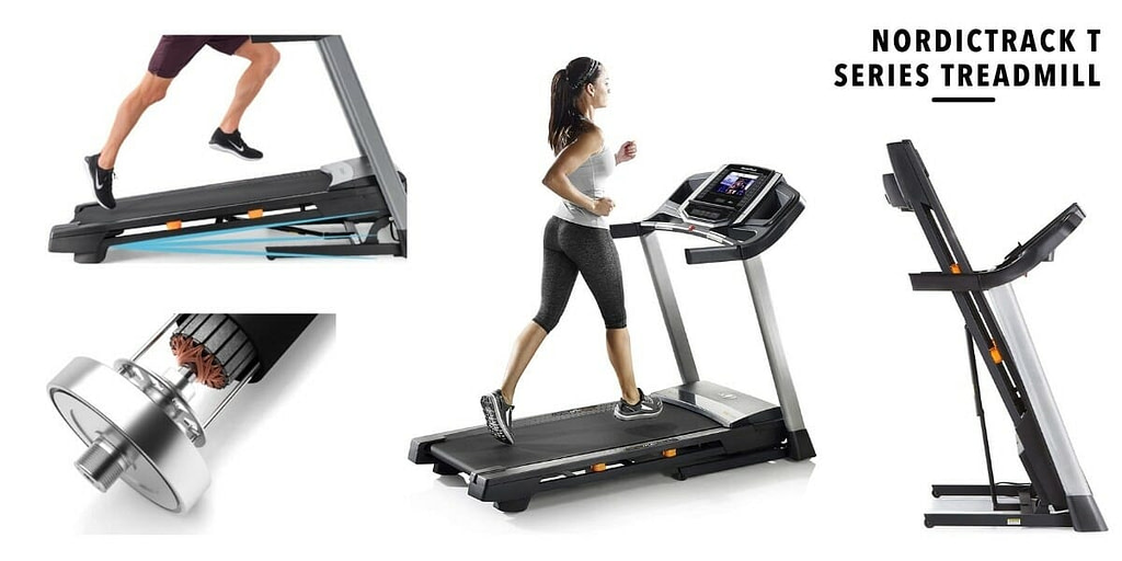 best features of NordicTrack T Series Treadmill