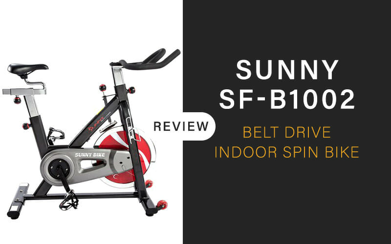 Sunny SF-B1002 Belt Drive Indoor Spin Bike  Review [2021]