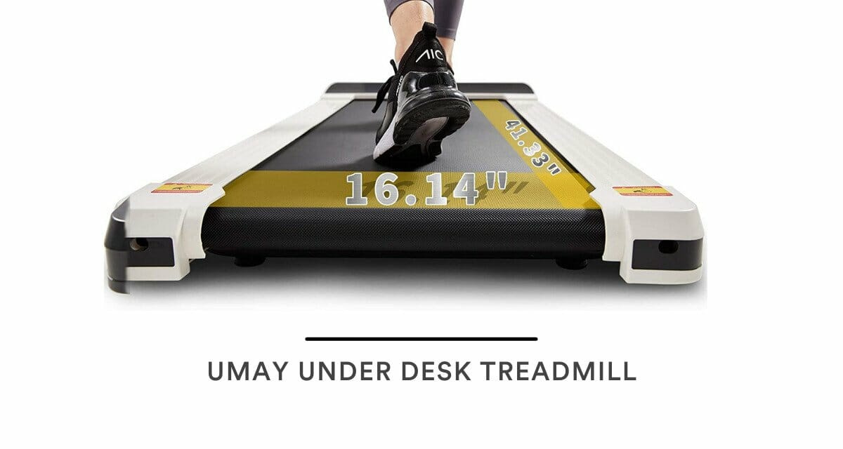UMAY Under Desk Treadmill Review: (2021 Update)